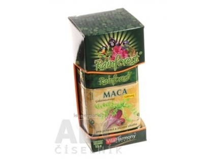 RainForest MACA 500 mg cps 1x90 ks