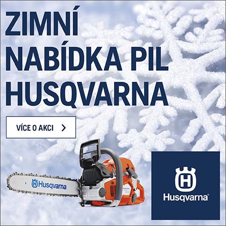 Zimní akce Husqvarna 2018