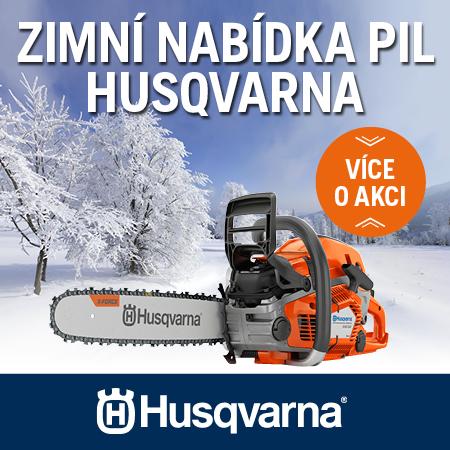 Zimní akce Husqvarna 2021