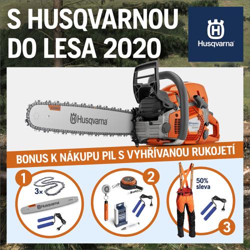 S Husqvarnou do lesa 2020
