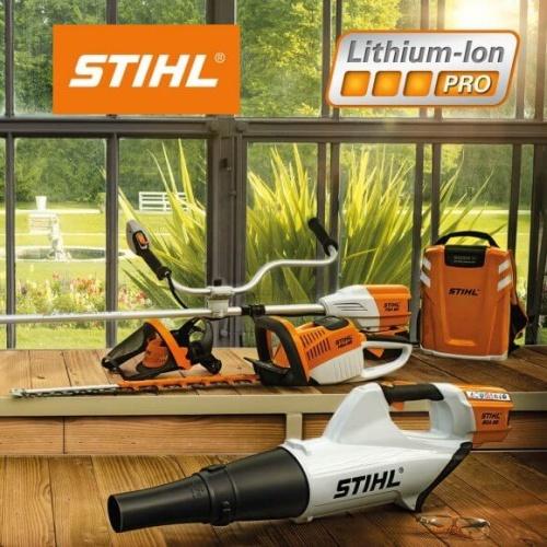 Akumulátorový systém Stihl