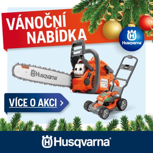 Vánoční akce Husqvarna