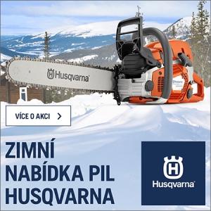 Zimní akce Husqvarna 2019