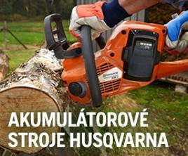 Akumulátorové stroje Husqvarna
