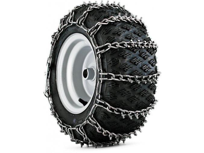 """Sněhové řetězy Husqvarna (Rozměr pneumatik 18x8,5-8"""")"""