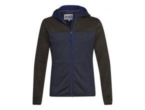 panska fleecova bunda ICON modra STIHL