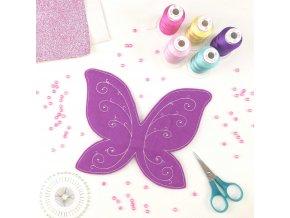 Navrhnout motýlková křídla