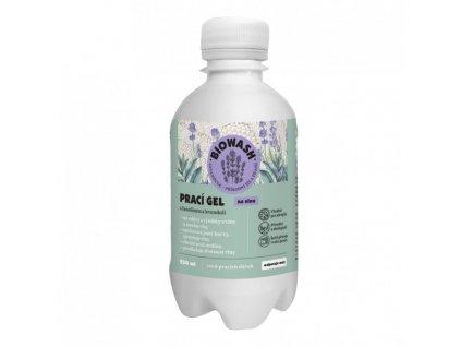 Prací gel BIO WASH na vlnu s levandulí a lanolínem 250 ml
