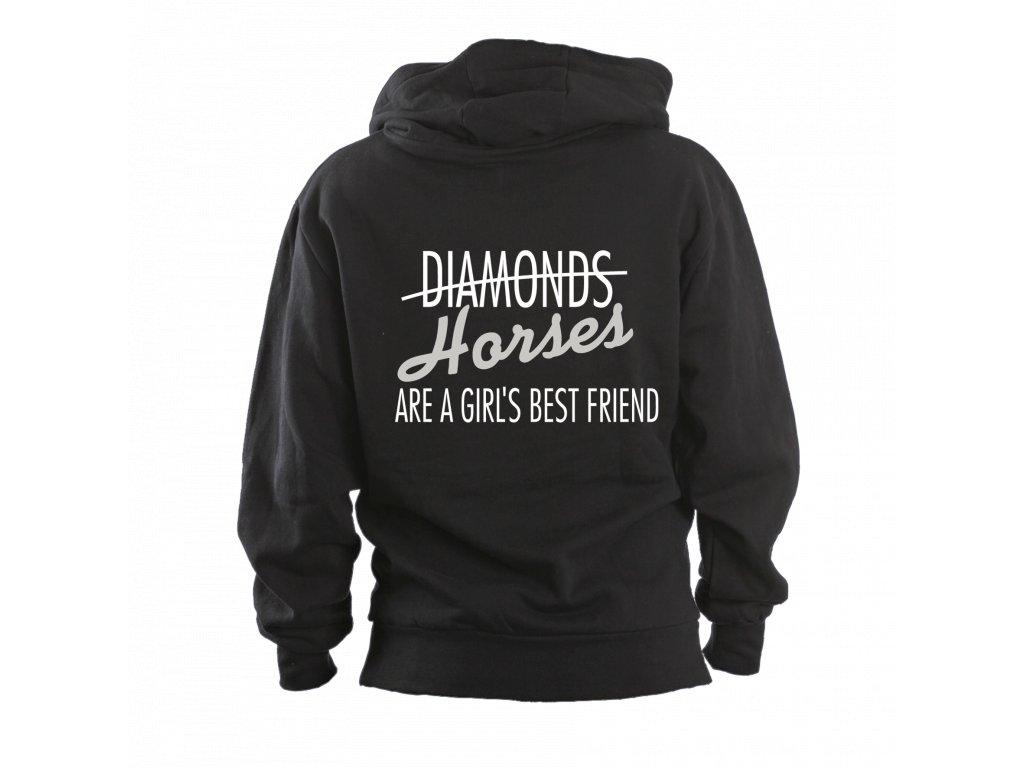 Mikina Děti -Diamond Horses