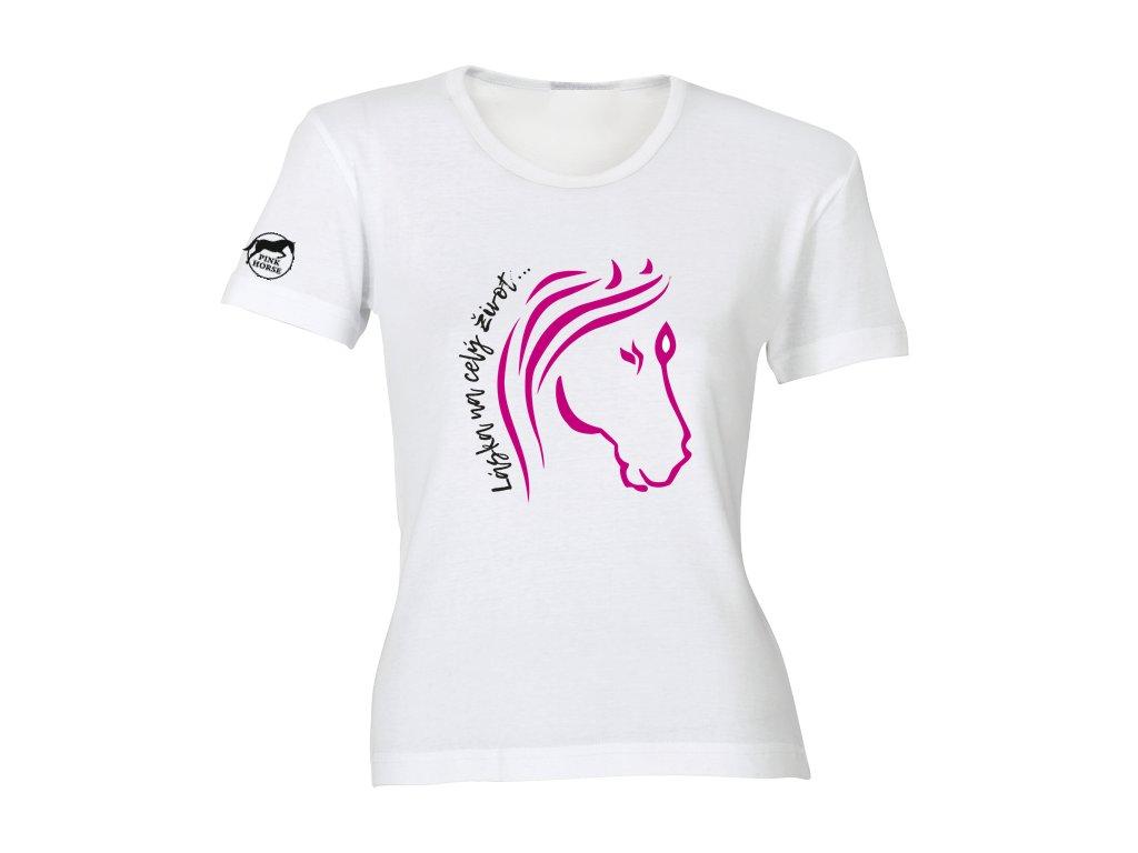 Tričko - Láska na celý život  tričko s potiskem