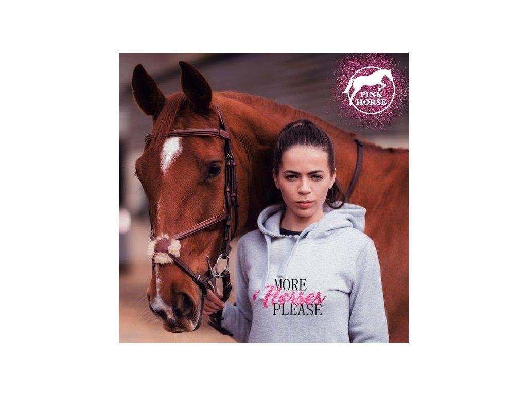 Mikina Děti - More Horses