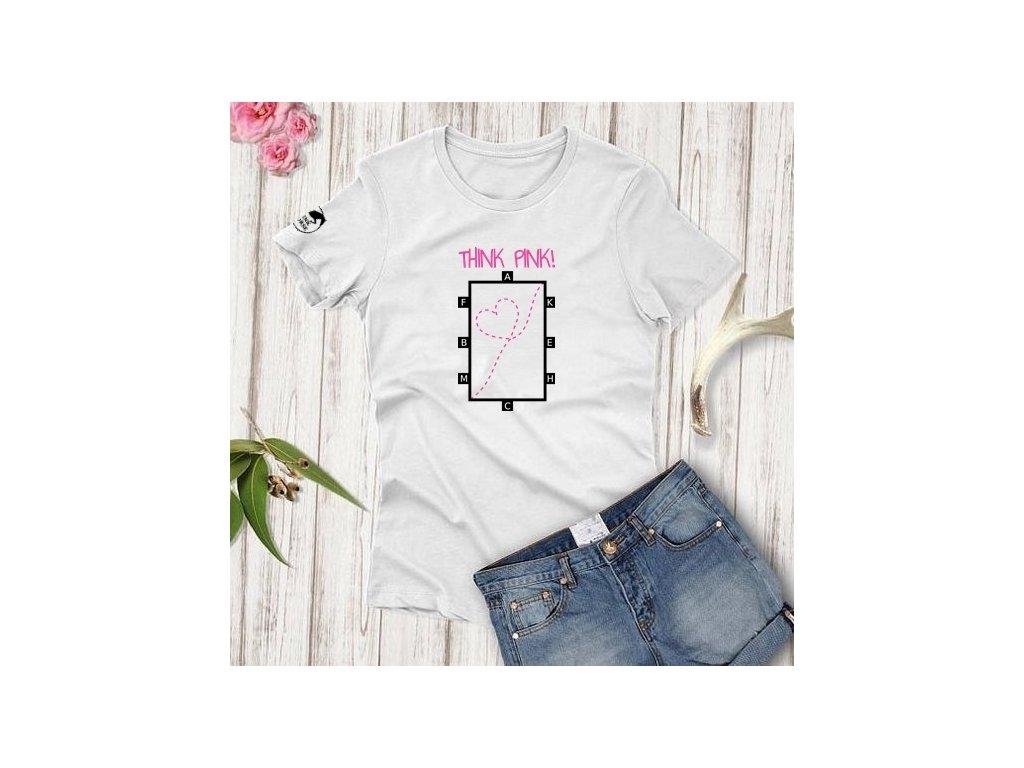 Tričko Děti - Think Pink