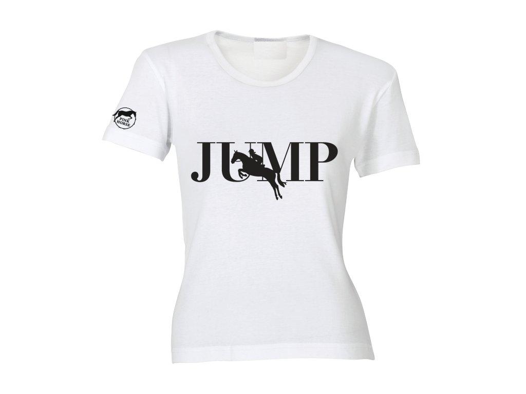 Tričko - JUMP  tričko s potiskem