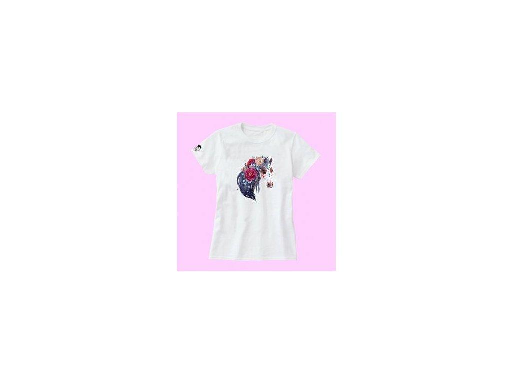 Tričko Děti - Horse Rose