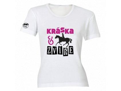 Tričko - Kráska a zvíře  tričko s potiskem