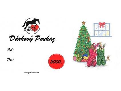 Vánoční Poukaz 2 000,-kč