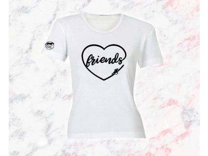 Tričko Friends  tričko s potiskem