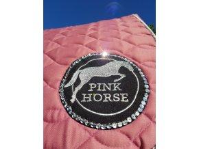 Podsedlová Dečka Pink Horse Circle