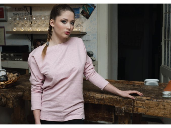 mikina pink