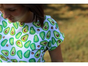 Tričko Epipí Avocado White