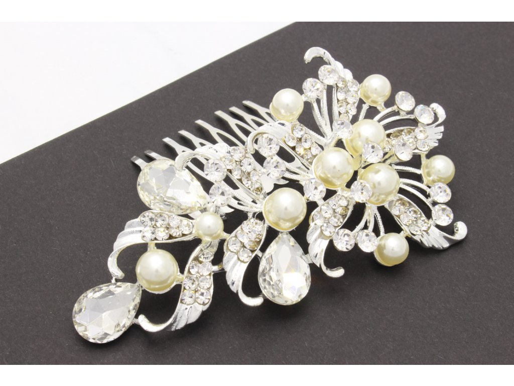 Hrebienok kvet-kamienky s perlami
