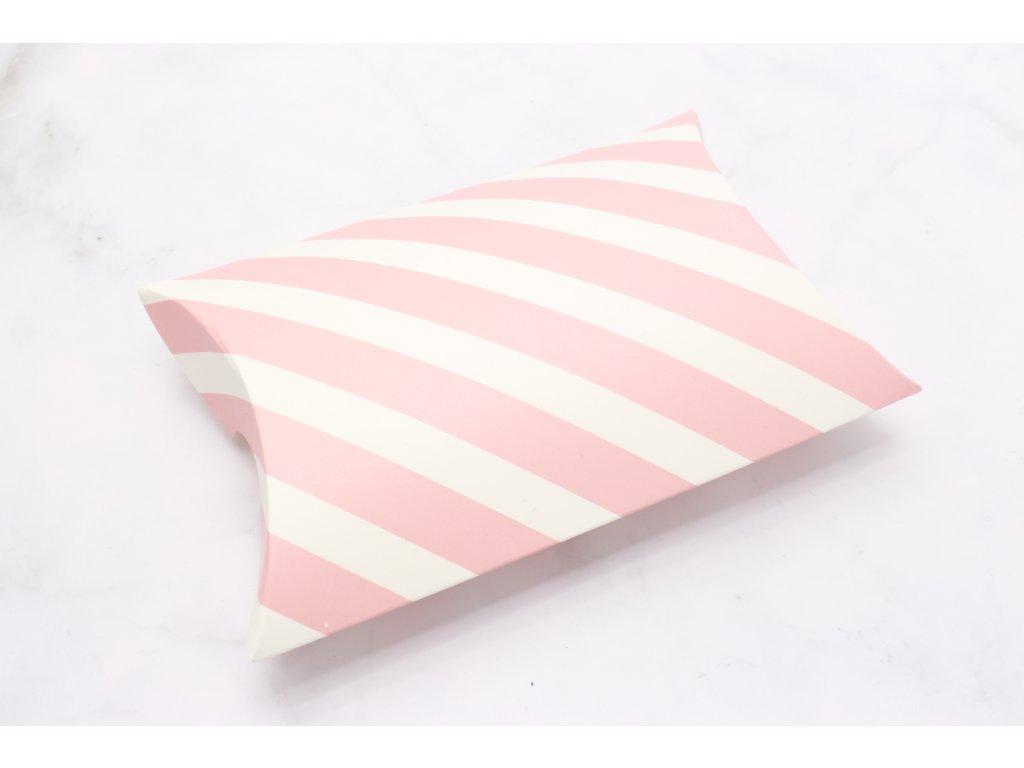 Vankúšiková krabička Pink
