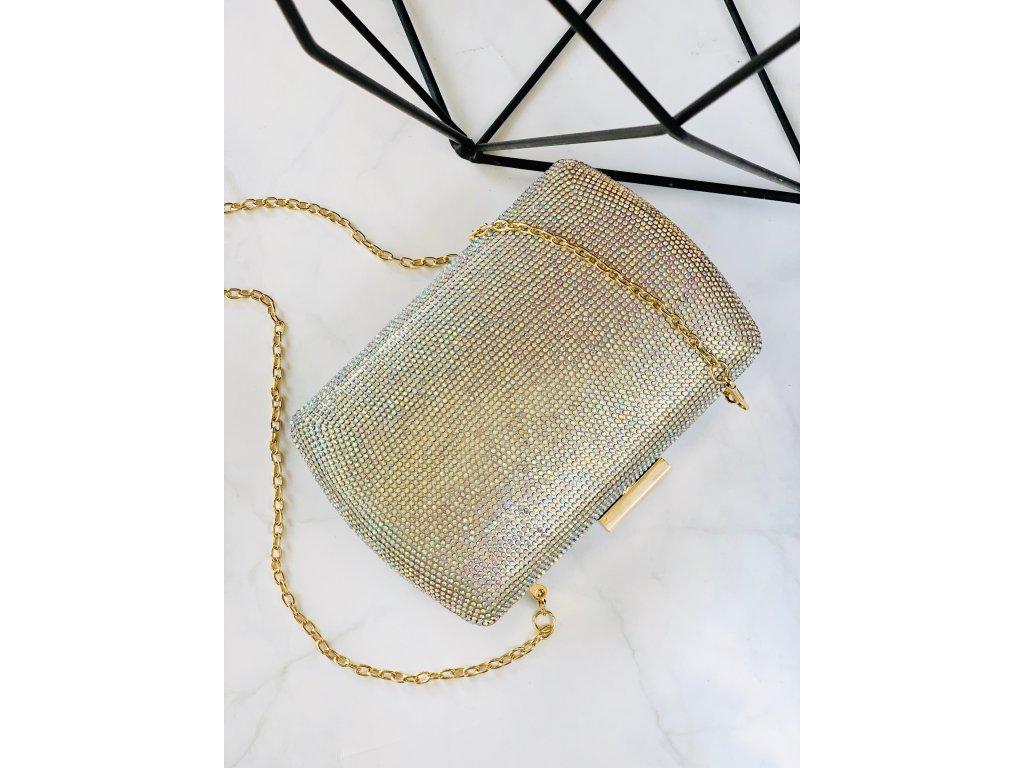 Spoločenská kabelka Colored Gloss