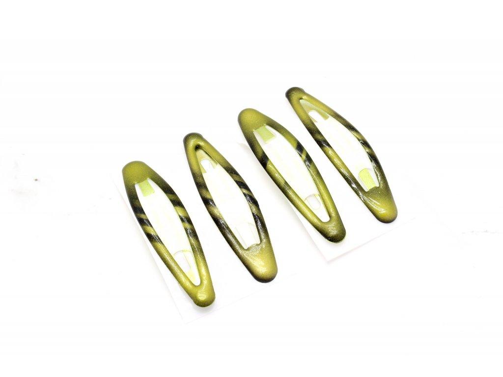 Pukačky olivové 4 ks