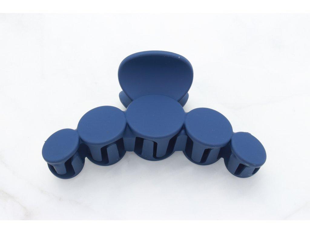 Modrý štipec guličky