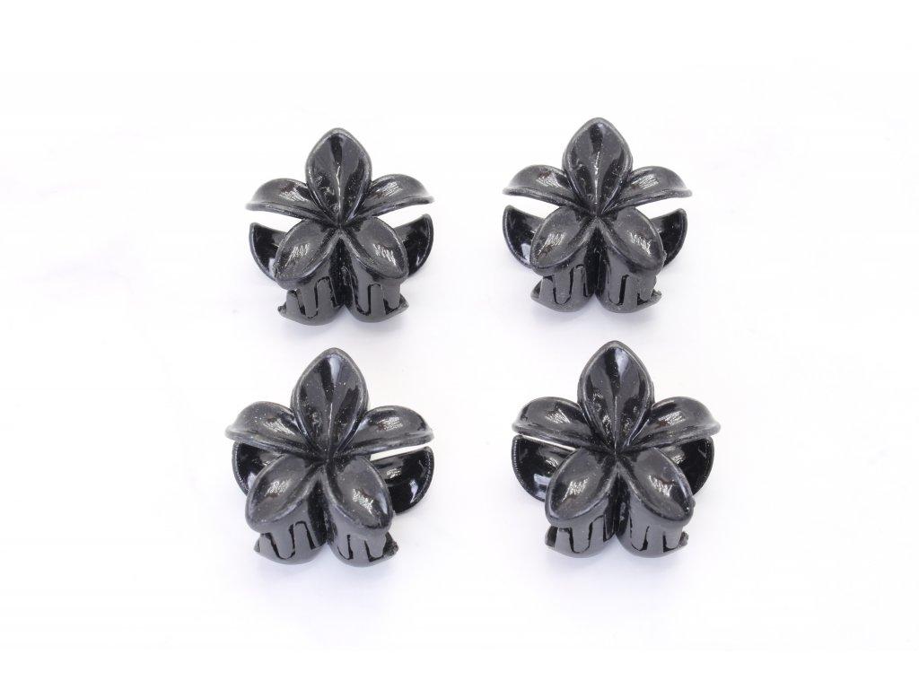Štipec čierne kvety 4 ks