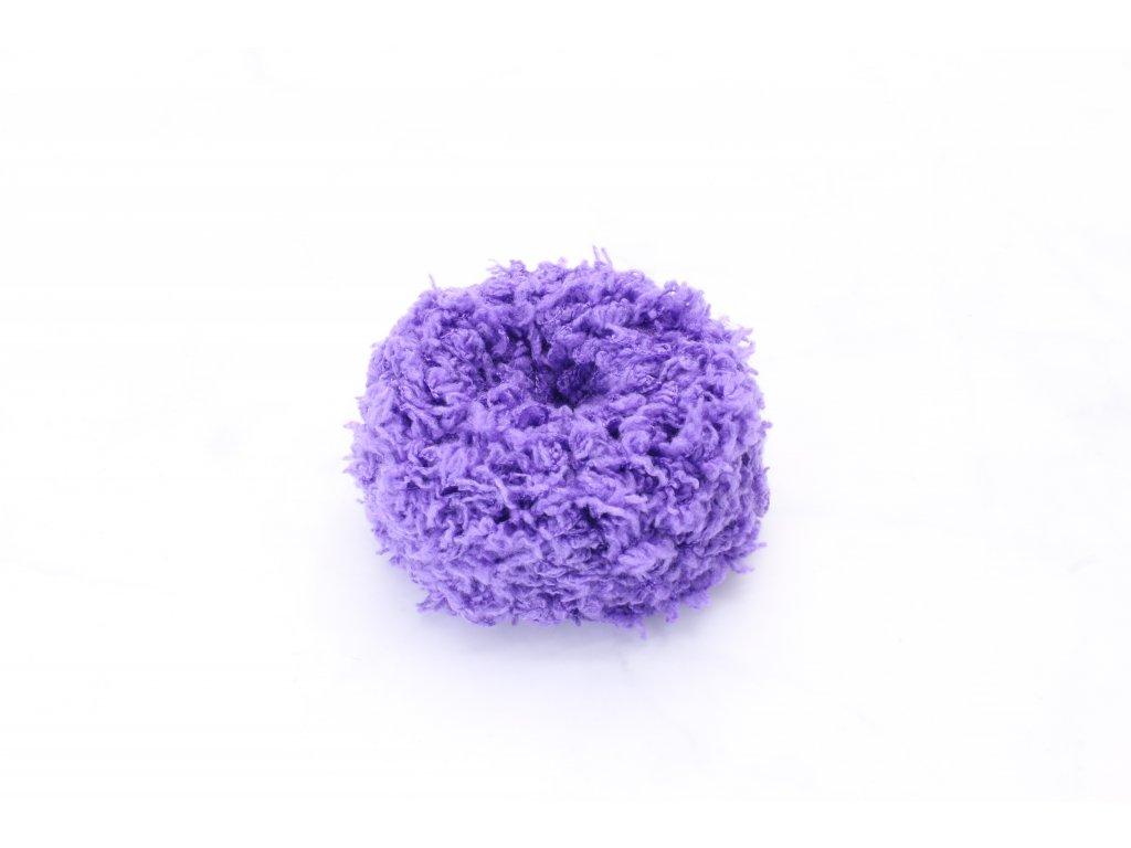 Tmavo fialová mäkká gumička