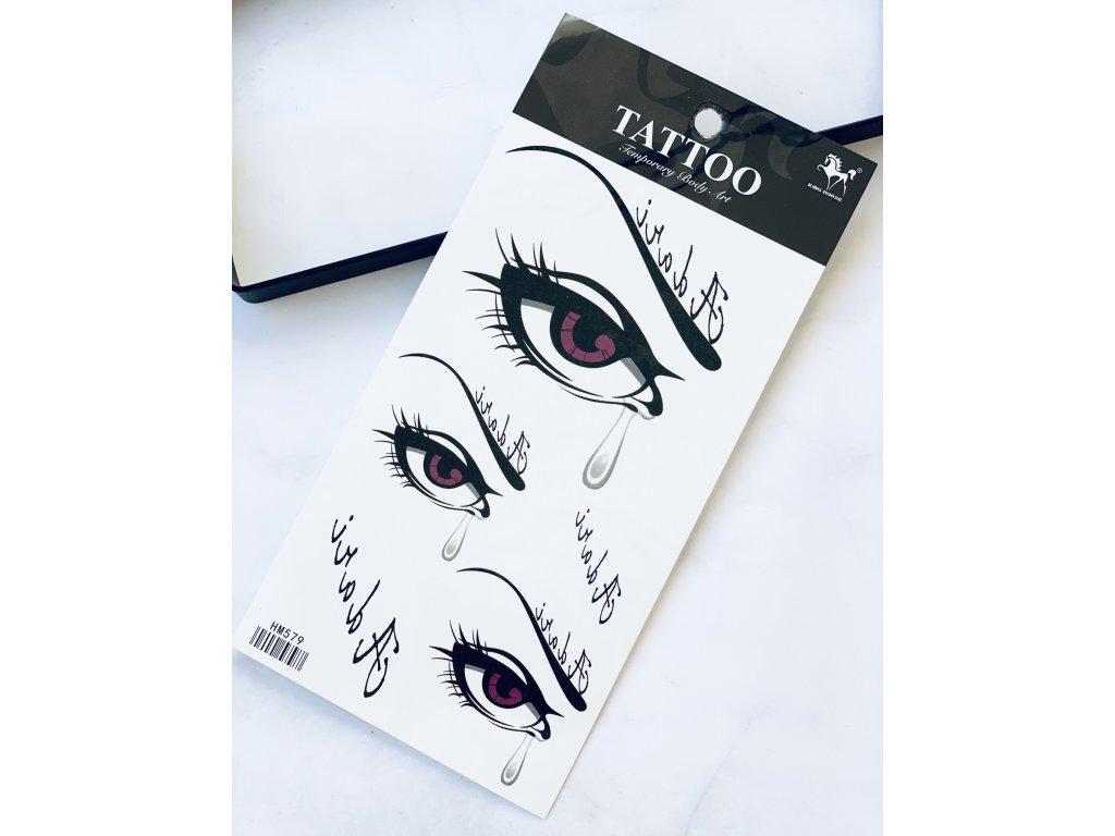Tetovačky oči