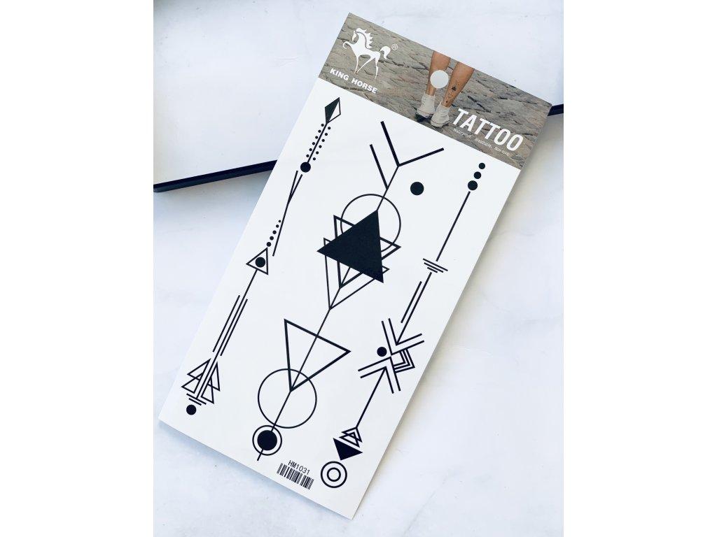 Tetovačky geometrické vzory