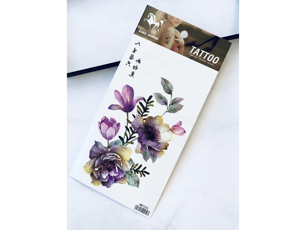 Tetovačka farebná kvetina