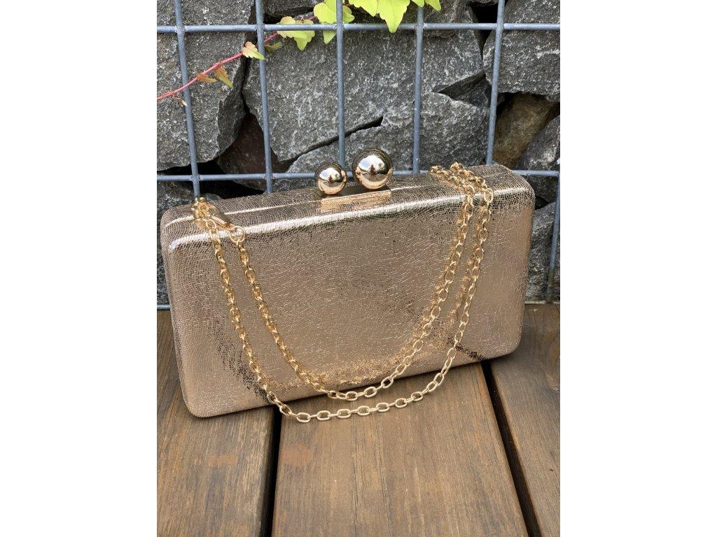 Trendová kufríková kabelka