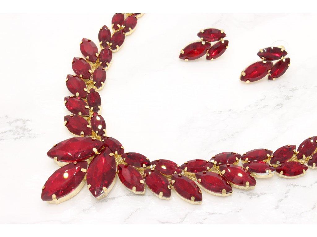 Náhrdelník Royal red