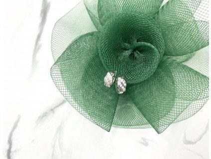 Exkluzívne náušnice kruhy Juliet Silver