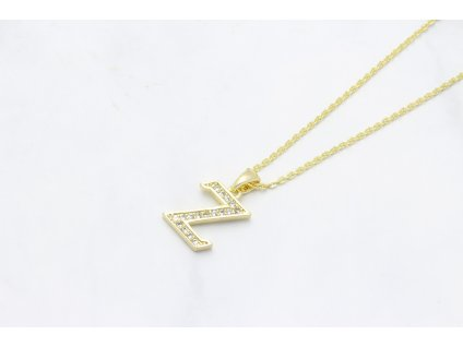 Retiazka s príveskom zlate písmeno Z