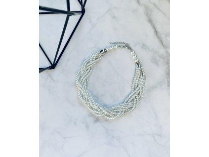 Perlový náhrdelník Rhea