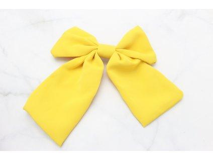 Mašľa v žltej farbe