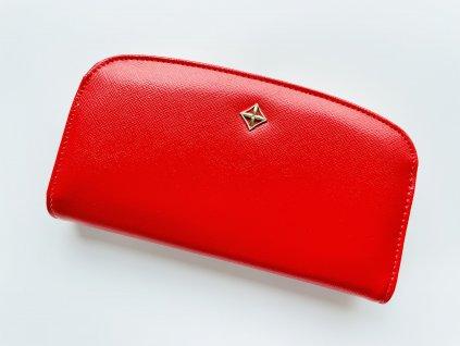 Červená peňaženka Milano Mia