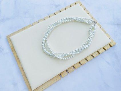 Perlový náhrdelník Sarah