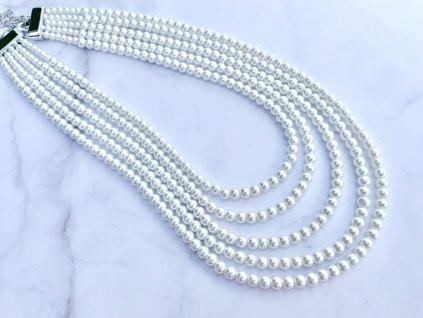 Perlový náhrdelník Viviana
