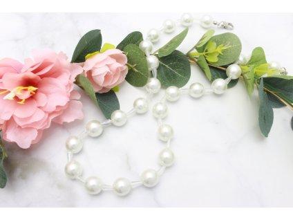Perlový náhrdelník Glori