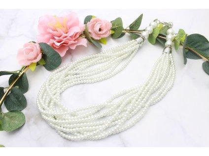 Perlový náhrdelník Sienny