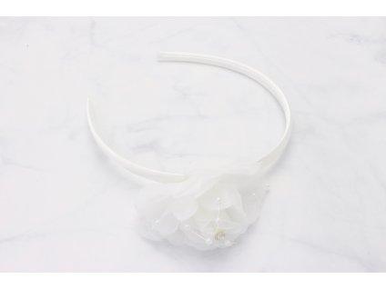 Čelenka biely kvet