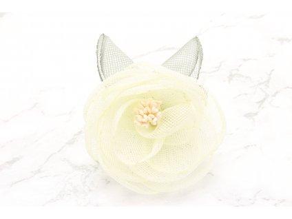 Kvet do vlasov maslový malý