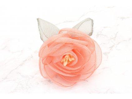 Kvet do vlasov marhuľový malý