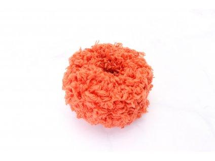 Mäkká oranžová gumička