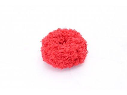 Červená mäkká gumička